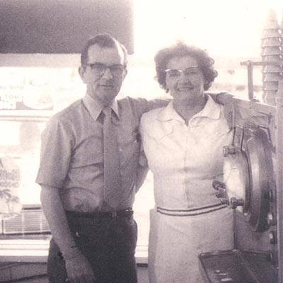 Wendell and Jean Cathers Merla Mae